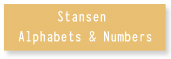 Stansen Alphabets & Numbers