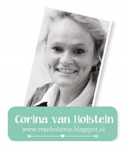 Corina van Holstein Button